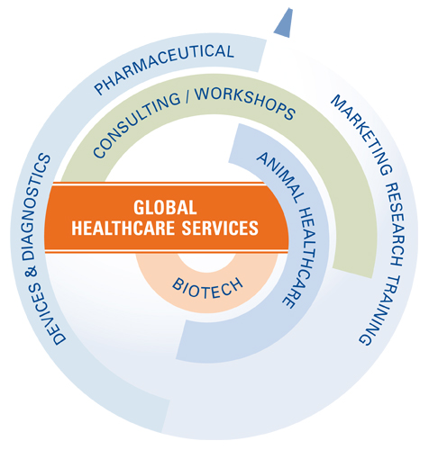 Global Healthcare Services provided by TVG Marketing Research & Consulting
